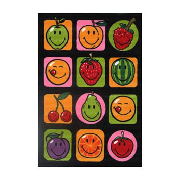 Fun Rugs™ Smiley World Fruitti Rug - 3'3'' x 4'10''