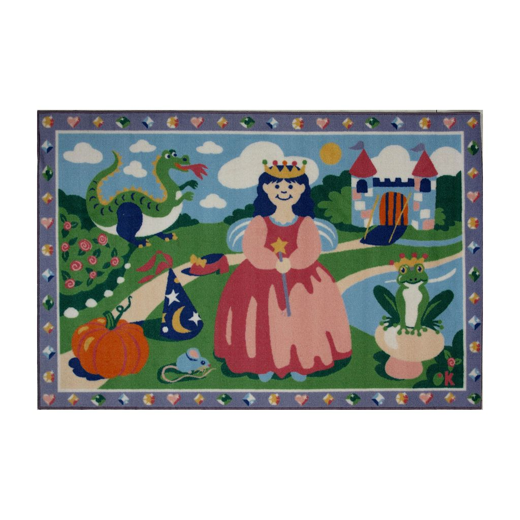 Fun Rugs™ Olive Kids™ Happily Ever After Rug - 3'3'' x 4'10''