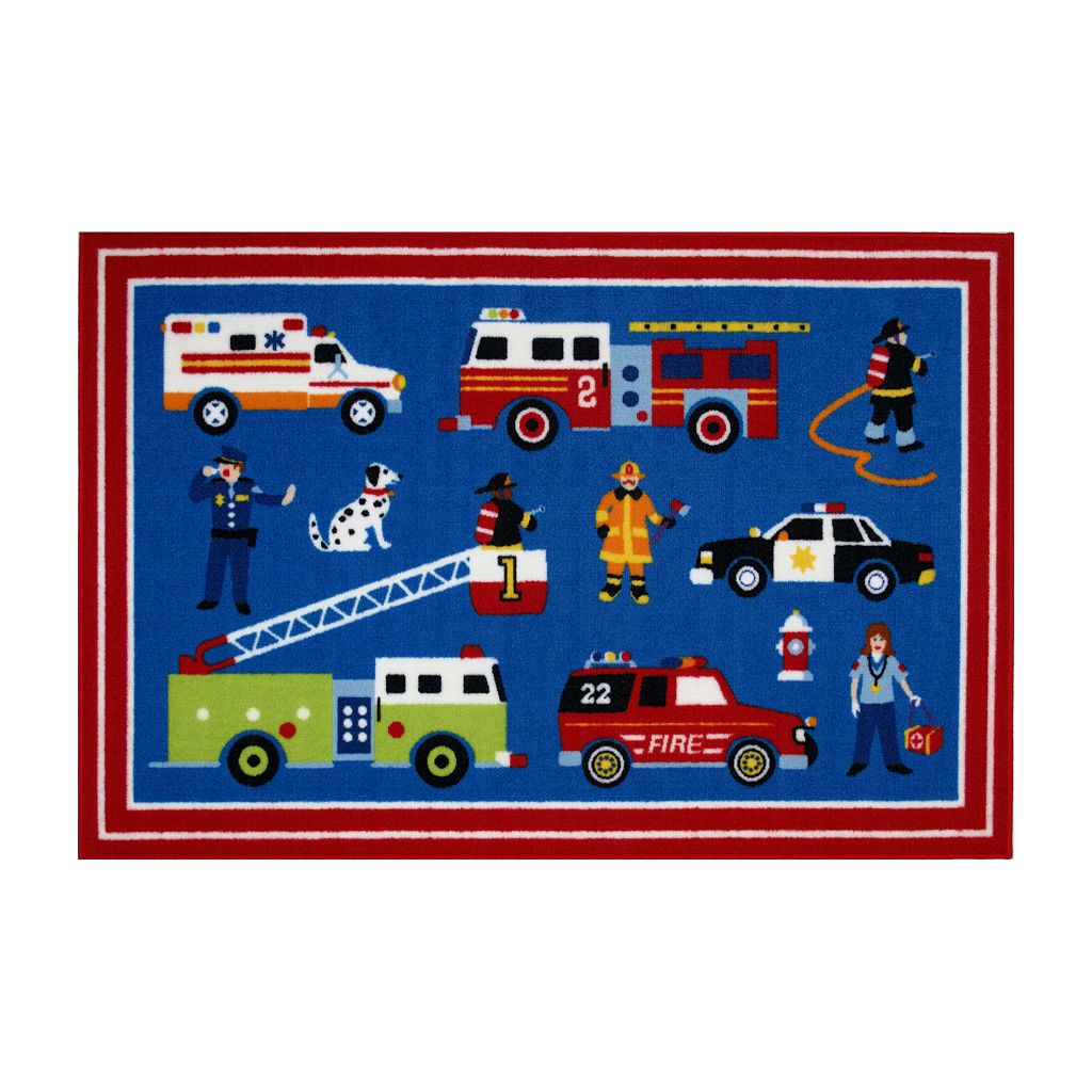 Fun Rugs™ Olive Kids™ Heroes Rug - 3'3
