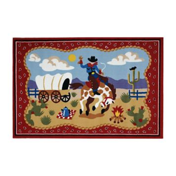 Fun Rugs™ Olive Kids™ Ride 'Em Rug - 19'' x 29''