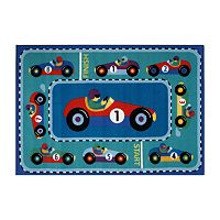 Fun Rugs™ Olive Kids™ Vroom Rug - 19'' x 29''