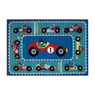 Fun Rugs Olive Kids Vroom Rug - 3'3'' x 4'10''