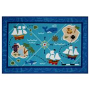 Fun Rugs Olive Kids Pirates Rug