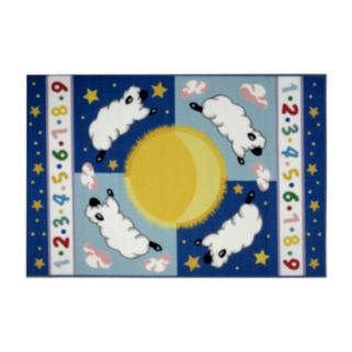 Fun Rugs Olive Kids Sleepy Sheep Rug - 19'' x 29''