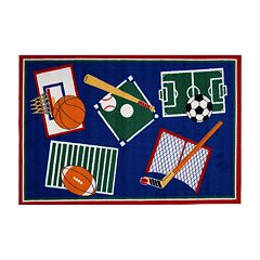 Fun Rugs™ Fun Time Sports A Rama Rug