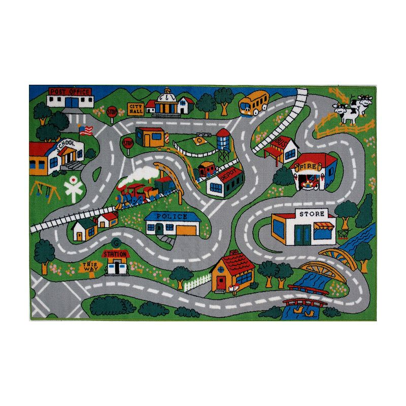 LA Rug FT-003 3958 Fun Time Co