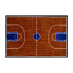 Fun Rugs™ Fun Time Basketball Court Rug - 19'' x 29''