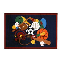 Fun Rugs™ Fun Time Sports America Rug - 3'3'' x 4'10''