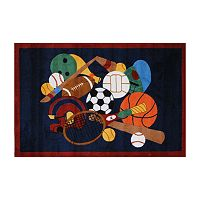 Fun Rugs™ Fun Time Sports America Rug - 4'3