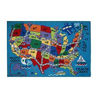 Fun Rugs™ Fun Time Travel Fun Rug - 19'' x 29''