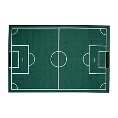 Fun Rugs™ Fun Time Soccerfield Rug