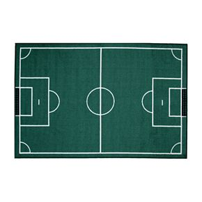 Fun Rugs Fun Time Soccerfield Rug