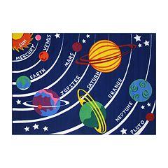 Fun Rugs™ Fun Time Solar System Rug - 19'' x 29''