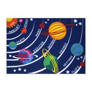 Fun Rugs Fun Time Solar System Rug - 19'' x 29''