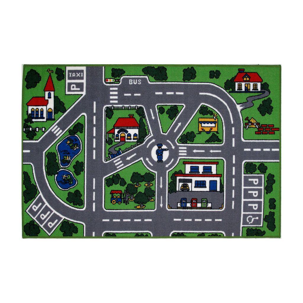 Fun Rugs™ Fun Time Streets Rug - 19'' x 29''