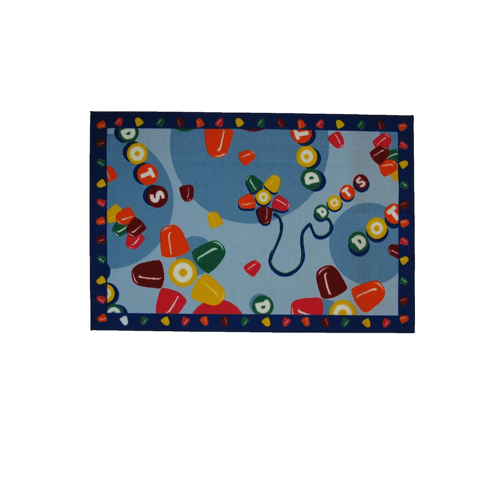 Fun Rugs™ Tootsie Roll® Dots® Rug - 3'3'' x 4'10''