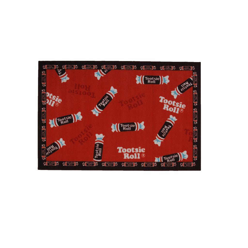 Fun Rugs™ Tootsie Roll® Candy Rug - 3'3'' x 4'10''