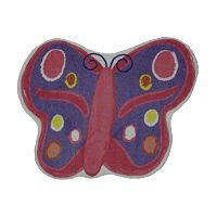 Fun Rugs™ Fun Time Butterfly Rug