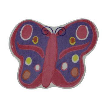 Fun Rugs™ Fun Time Butterfly Rug