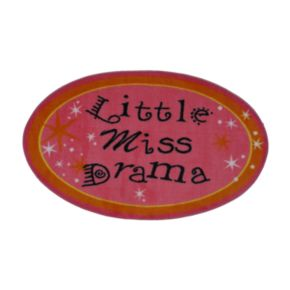 Fun Rugs Fun Time Little Miss Drama Rug