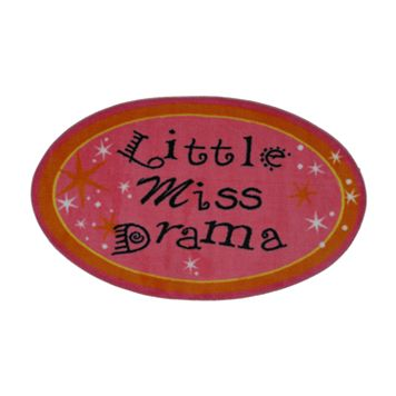 Fun Rugs™ Fun Time Little Miss Drama Rug