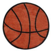 Fun Rugs™ Fun Time Basketball Rug
