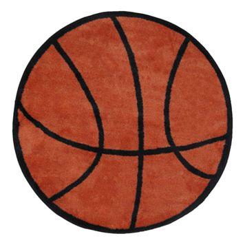 Fun Rugs™ Fun Time Basketball Rug