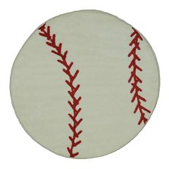 Fun Rugs™ Fun Time Baseball Rug