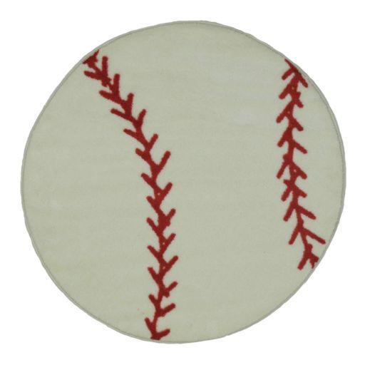 Fun Rugs Fun Time Baseball Rug