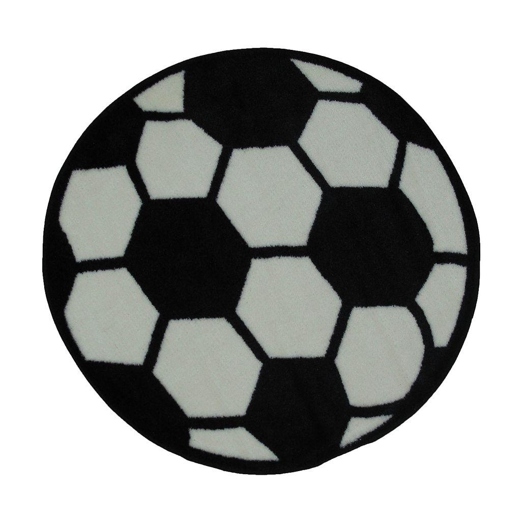 Fun Rugs™ Fun Time Soccerball Rug