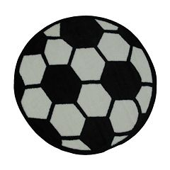 Fun Rugs™ Fun Time Soccerball Rug