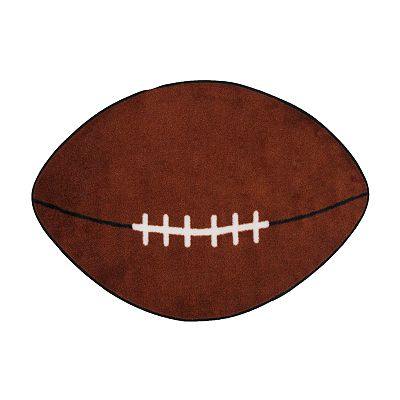 Fun Rugs Fun Time Football Rug