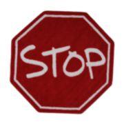Fun Rugs? Fun Time Stop Sign Rug
