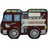 Fun Rugs™ Fun Time Fire Engine Rug