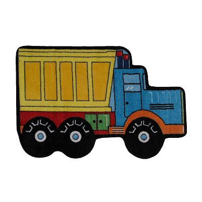 Fun Rugs Fun Time Dump Truck Rug