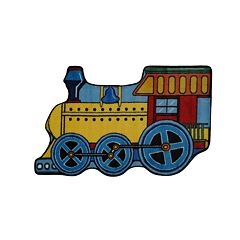 Fun Rugs™ Fun Time Train Rug