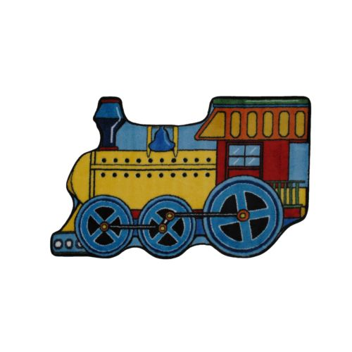 Fun Rugs Fun Time Train Rug