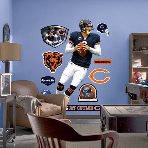 Fathead Chicago Bears Jay Cutler Wall Decal