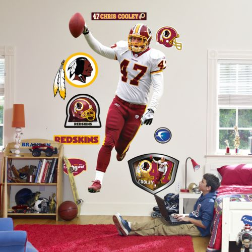 Fathead Washington Redskins Chris Cooley Wall Decal