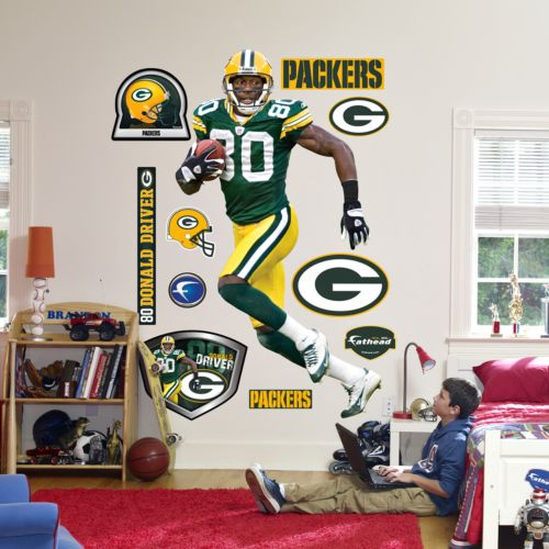 Fathead Green Bay Packers Donald Driver Wall Decal