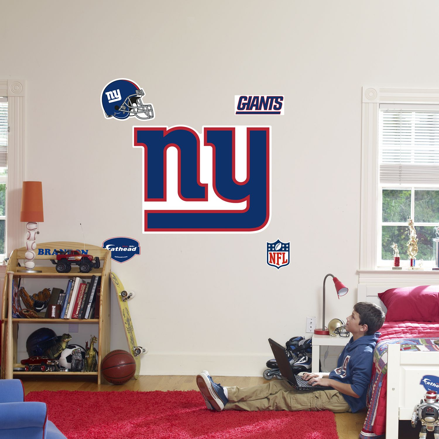 Fathead® New York Giants Logo Wall Decal Part 98