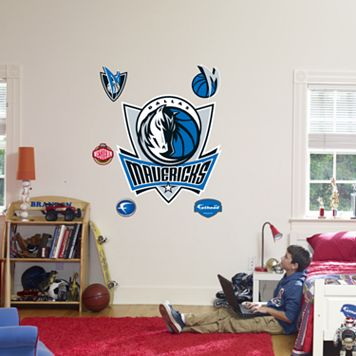 Fathead® Dallas Mavericks Logo Wall Decal