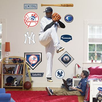 Fathead® New York Yankees C.C. Sabathia Wall Decal