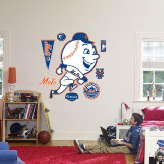 Fathead New York Mets Throwback Logo Wall Decal