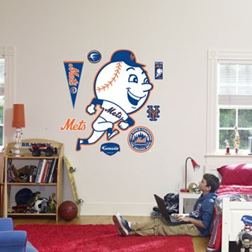 Fathead®New York Mets Throwback Logo Wall Decal