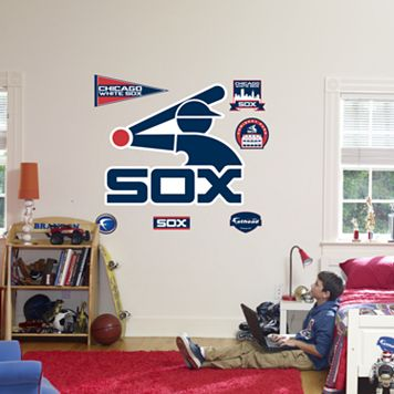 Fathead® Chicago White Sox Throwback Logo Wall Decal