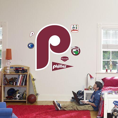 Fathead® Philadelphia Phillies Throwback Logo Wall Decal
