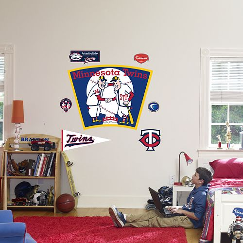 Fathead® Minnesota Twins Throwback Logo Wall Decal