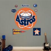 Fathead® Houston Astros Throwback Logo Wall Decal