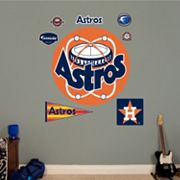Fathead Houston Astros Throwback Logo Wall Decal